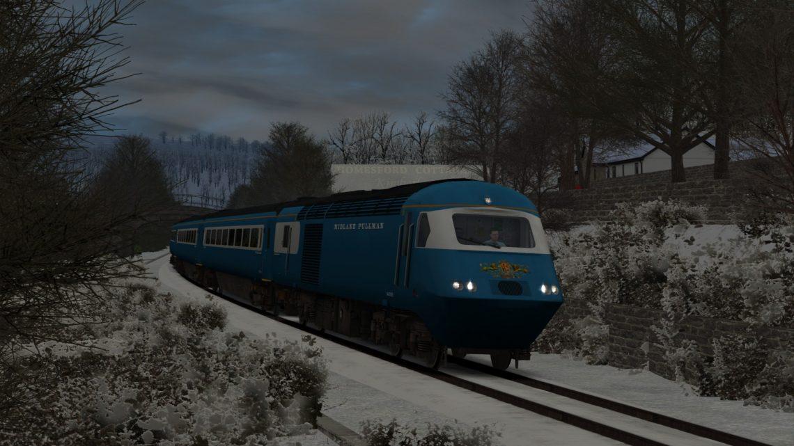 "1Z43 09.48 London King's Cross – Matlock ""Victorian Christmas Blue Pullman"" (2020 – alternative)"