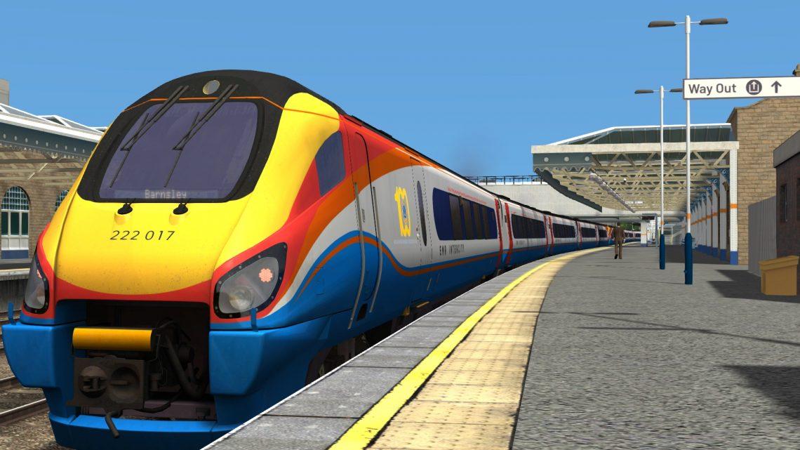 1C40 1129 Sheffield to London St Pancras
