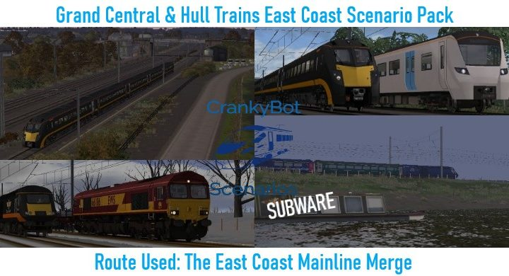 *SUBWARE* [CB] Grand Central/Hull Trains ECML Scenario Pack
