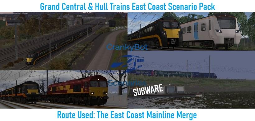 *SUBWARE* [CB] Grand Central/Hull Trains ECML Scenario Pack