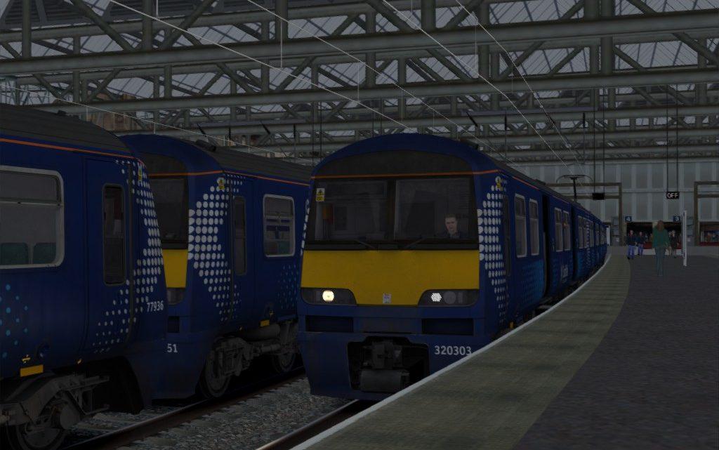 2B84 1420 Glasgow Central to Lanark