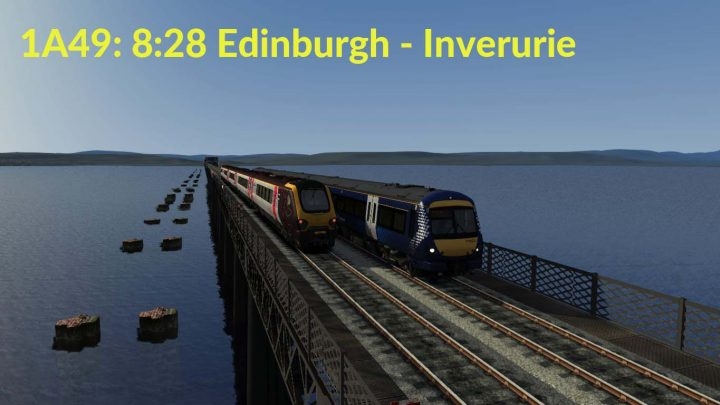 1A49: 8:28 Edinburgh – Inverurie