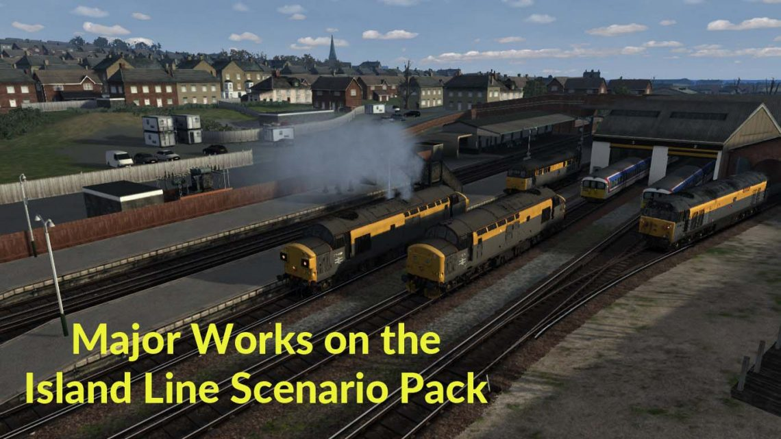 Major Works on the Island Line Scenario Pack