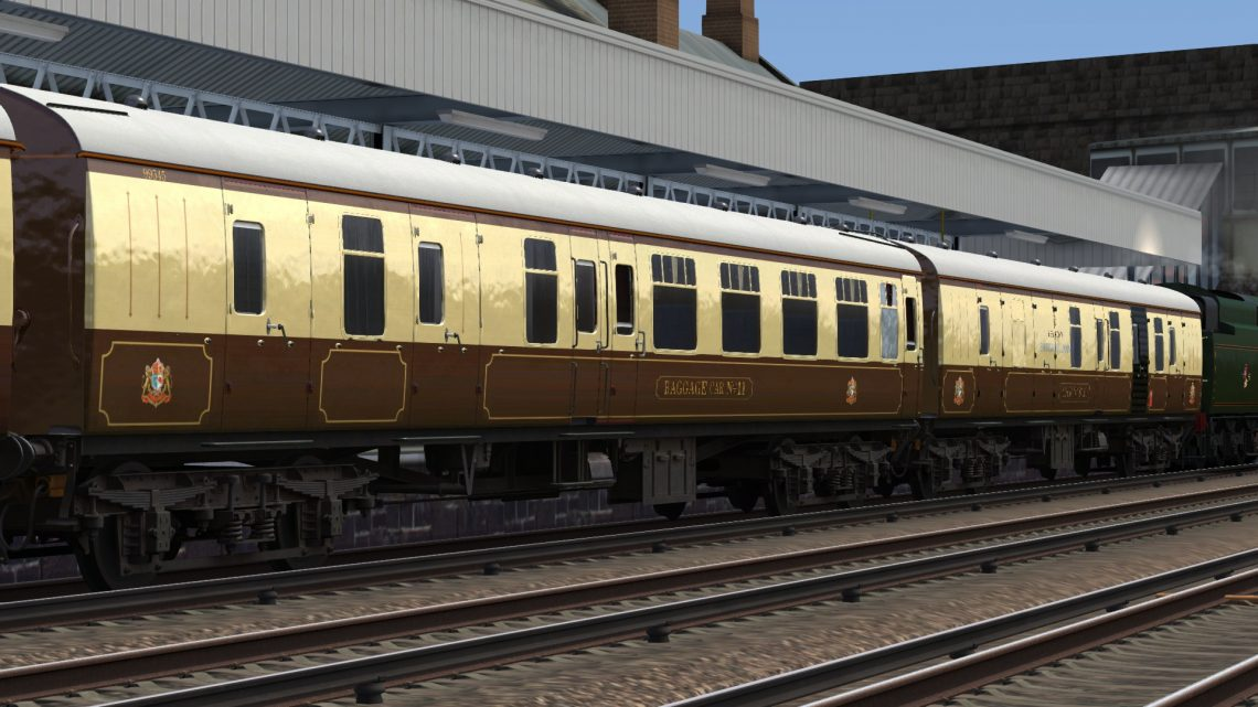 Belmond Pullman MK1's – including Baggage Car 11 and Generator 6313