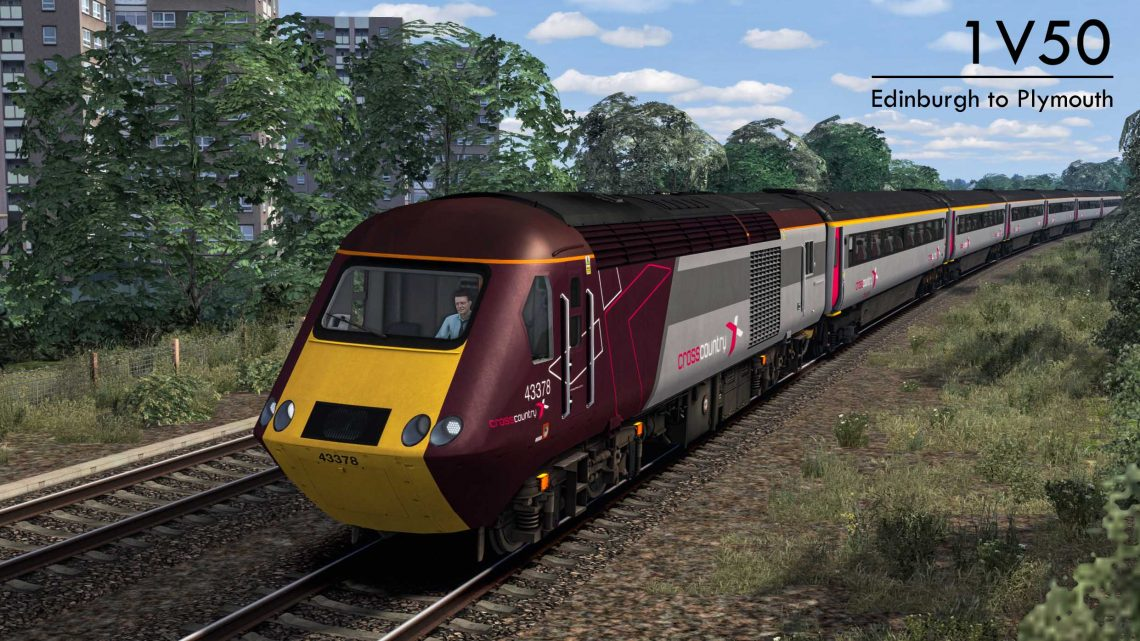 1V50 0606 Edinburgh to Plymouth **SUBSCRIPTION ONLY**