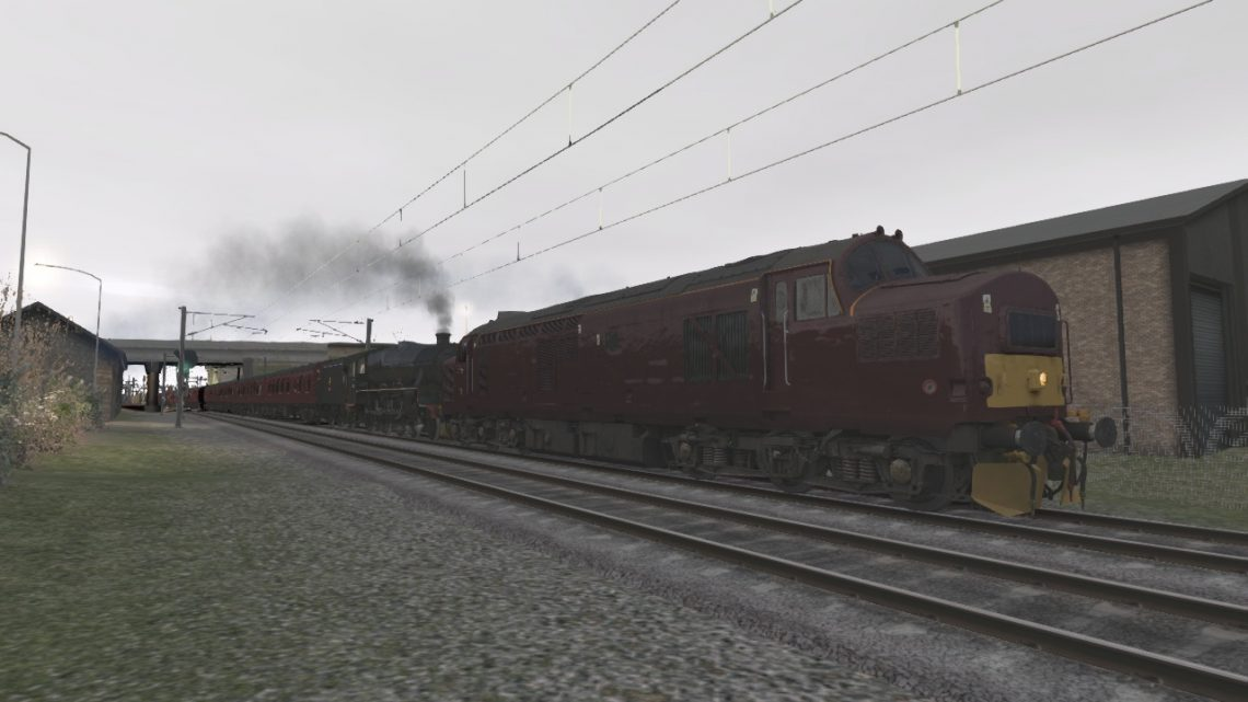 (Fictional) 5Z90 Carnforth Steamtown-Carlisle (The Glaswegianer Pt.1)