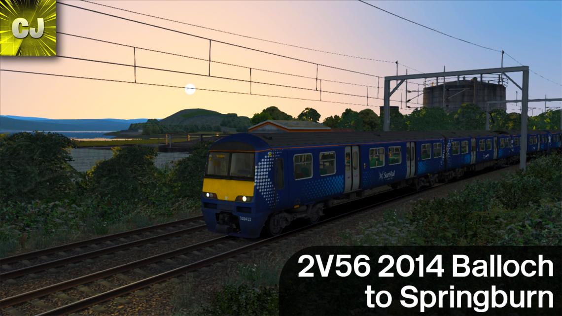 2V56 2014 Balloch to Springburn
