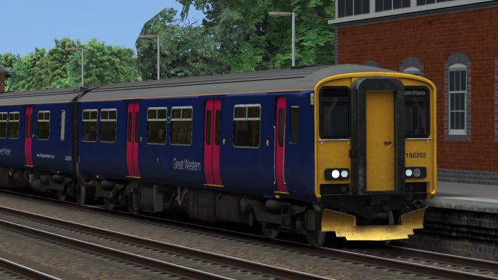 GWR EX-FGW Class 150/2 reskin