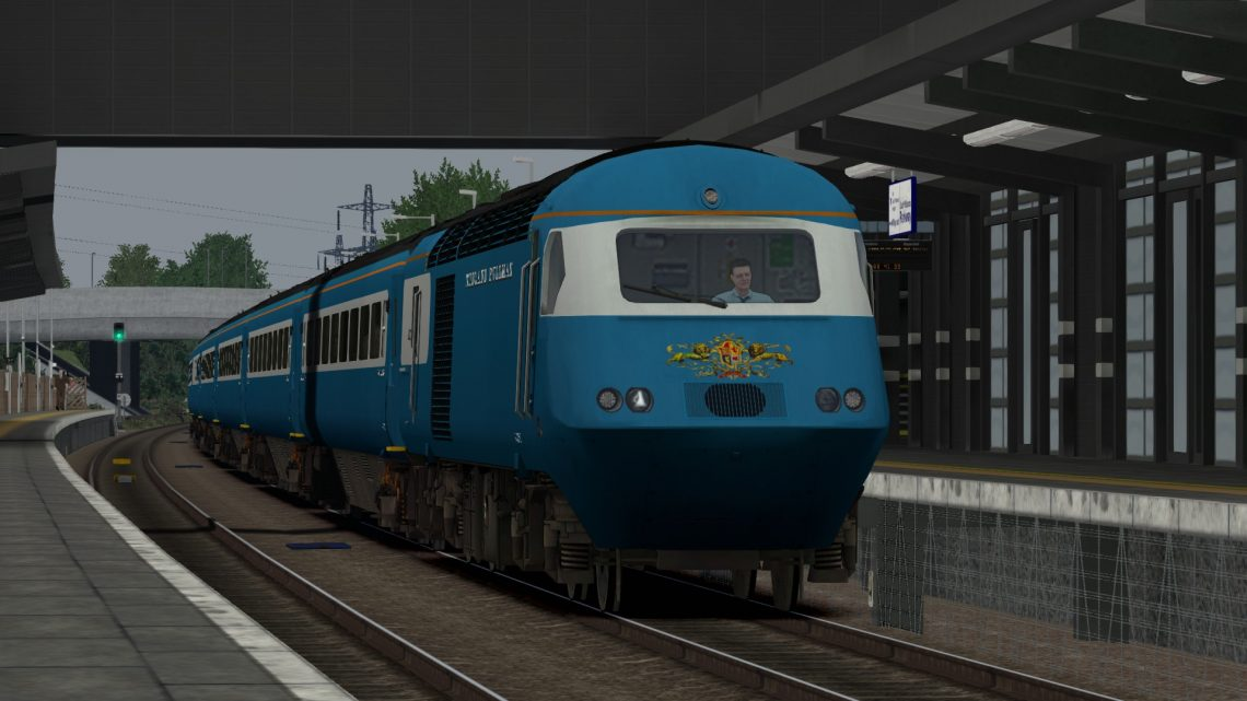 [CH] 1Z43 09:10 London St. Pancras – Crewe