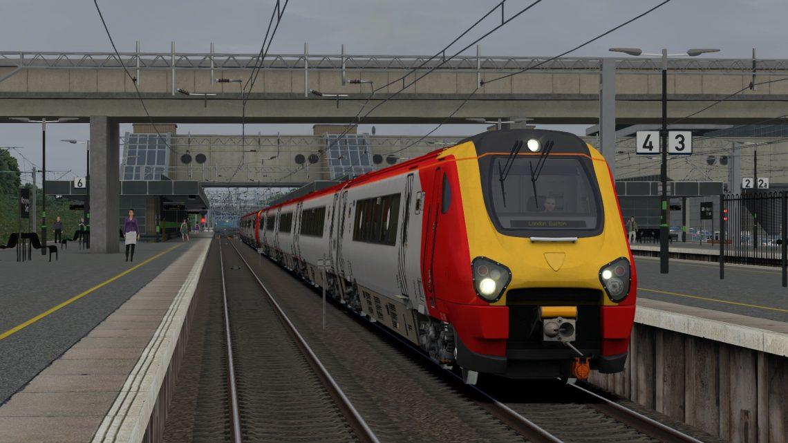 9A47 0718 Preston – London Euston – Class 221s