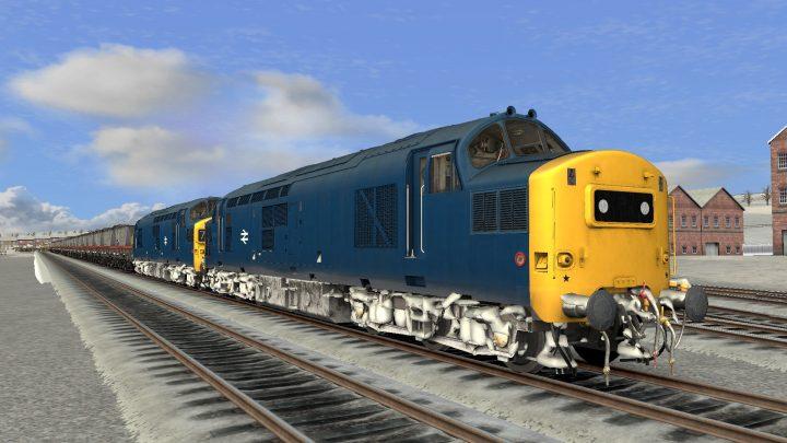 7F45 0935 Brancepeth Colliery to Blyth Power Station (Fictional)