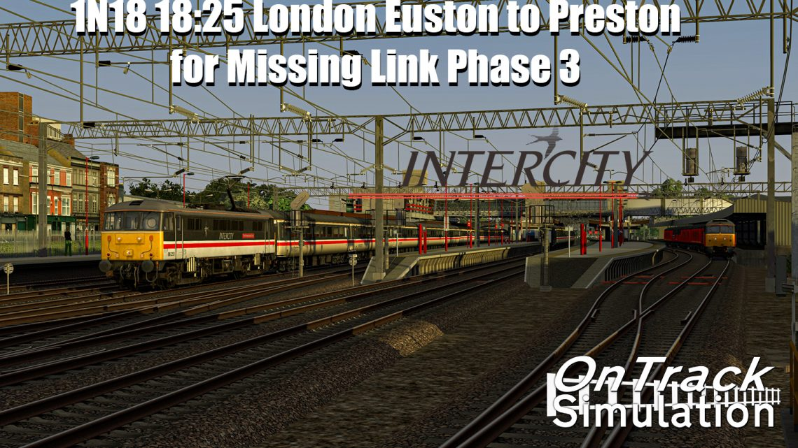 [OTS] 1N18 18:25 London Euston-Preston