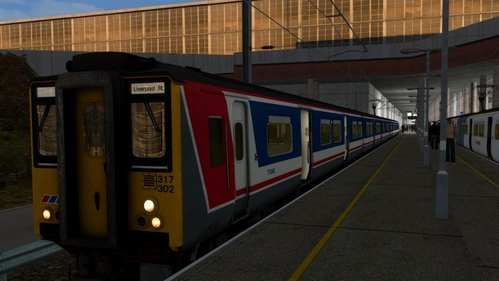 [BT] Class 317 1802 – Stansted Airport to Liverpool Street