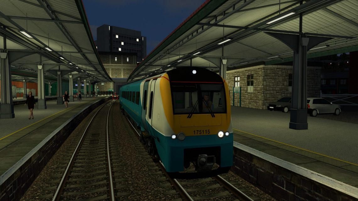 [BT] 1W50 – 0545 Carmarthen to Manchester Piccadilly
