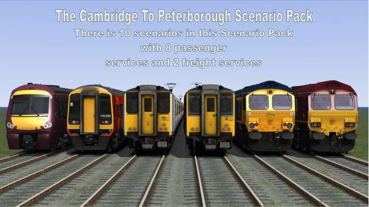 The Cambridge To Peterborough Scenario Pack