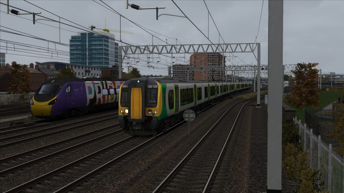 2K16 11:56 Milton Keynes Central to London Euston