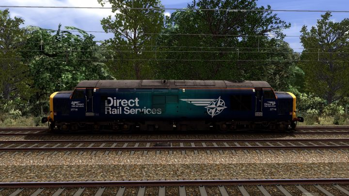 061L 1029 Carlisle to York Parcels Sidings