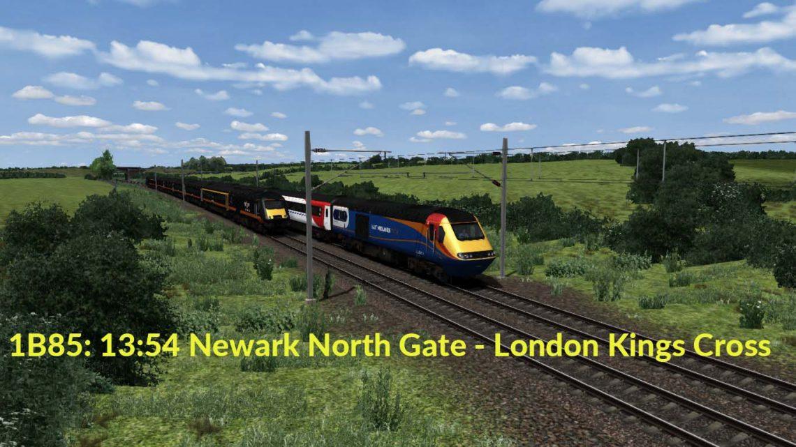 1B85: 13:54 Newark North Gate – London Kings Cross