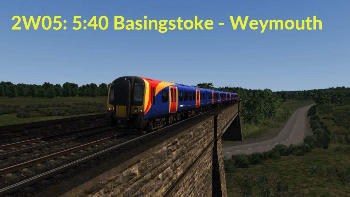 2W05: 5:40 Basingstoke – Weymouth