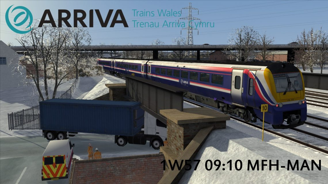 1W57 09:10 Milford Haven to Manchester
