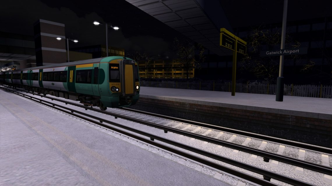 [1W44] London Victoria to Brighton | Class 377 | Closing down for Christmas