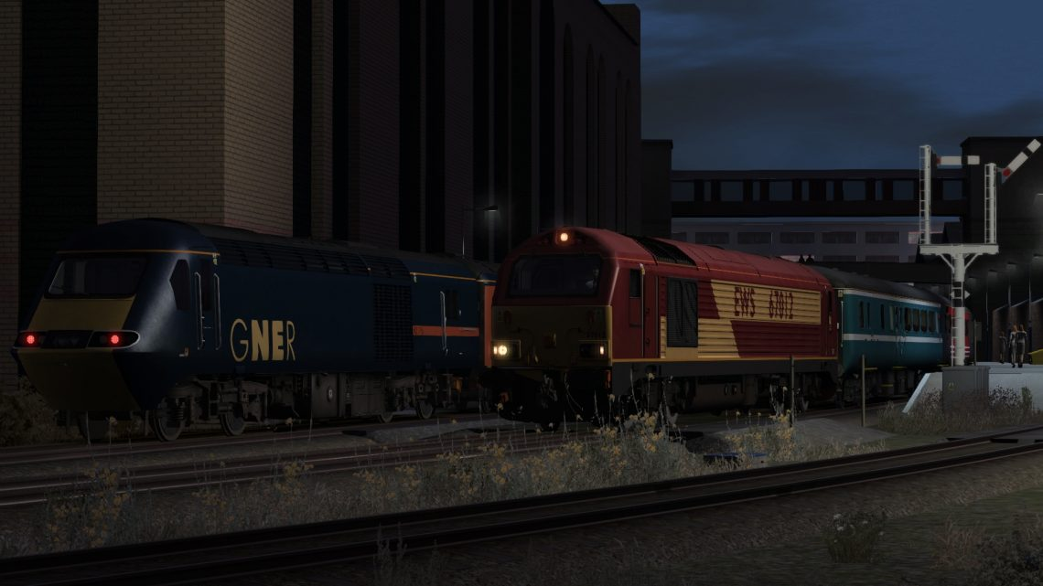 (12 Days of Scenarios) 1Z67 05:02 Leeds-Edinburgh Waverley