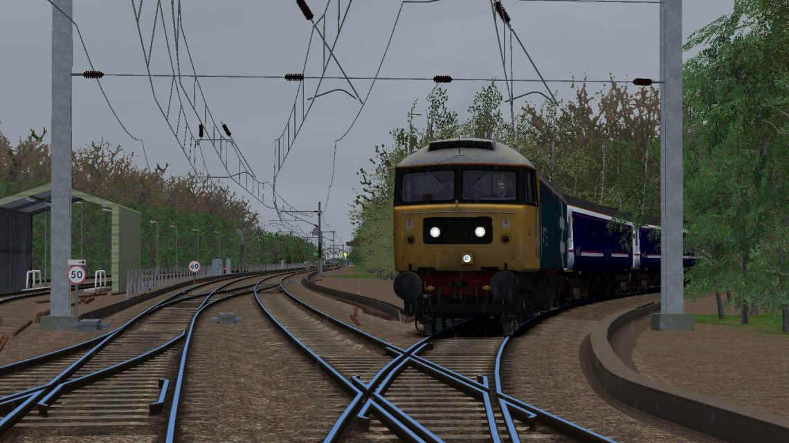 [TK] Ex sleeper Stock – Bishop Auckland to Great Yarmouth