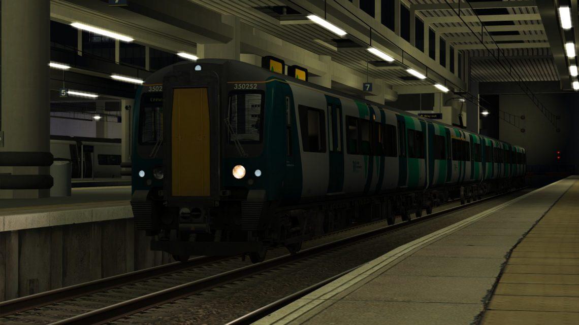 1U53 2149 London Euston to Crewe