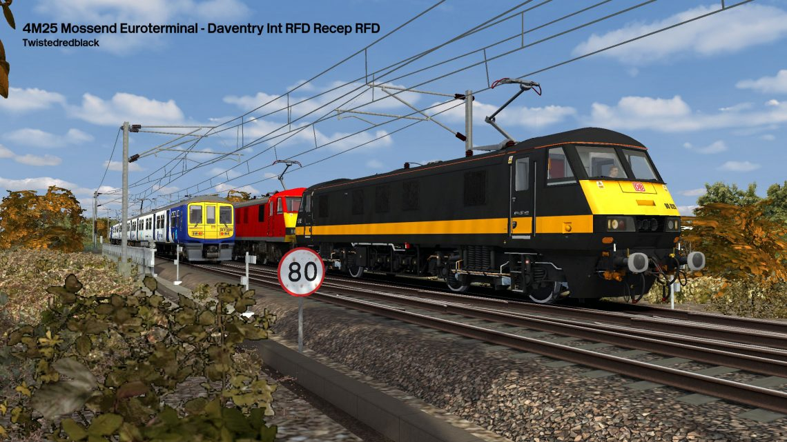 4M25 Mossend Euroterminal – Daventry Int RFD Recep RFD
