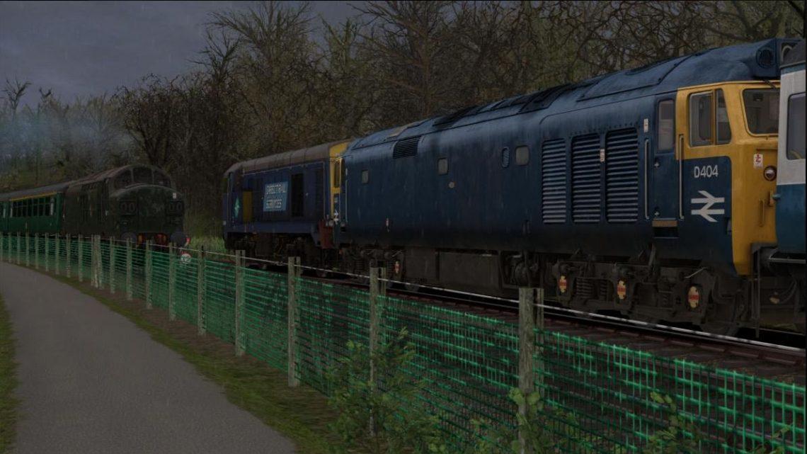 [BrLocos] NSR Diesel Gala (AP Class 37/0)