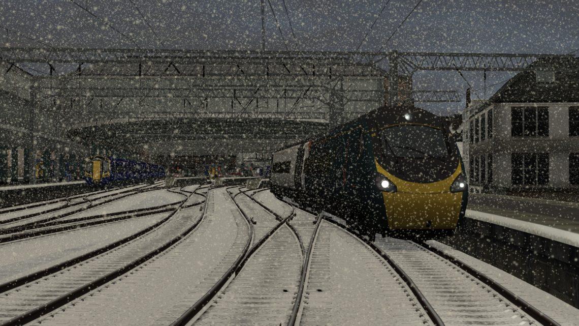 1Z53 1000 Glasgow Central to London Euston – Class 390!