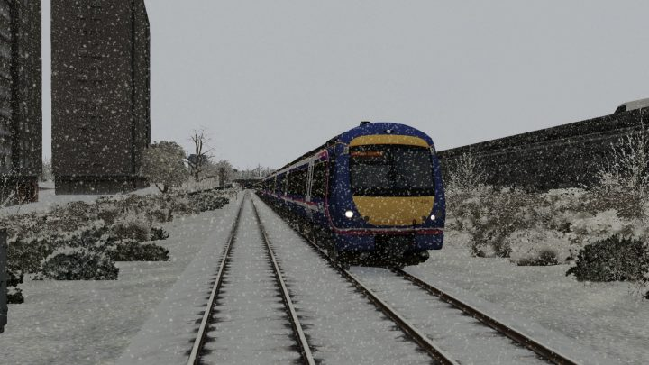 1R58 1230 Glasgow Queen Street to Edinburgh – Class 170!