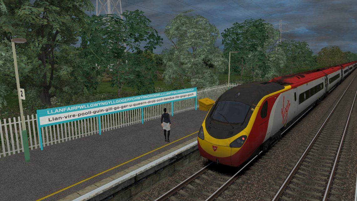 1D83 0850 London Euston to Holyhead
