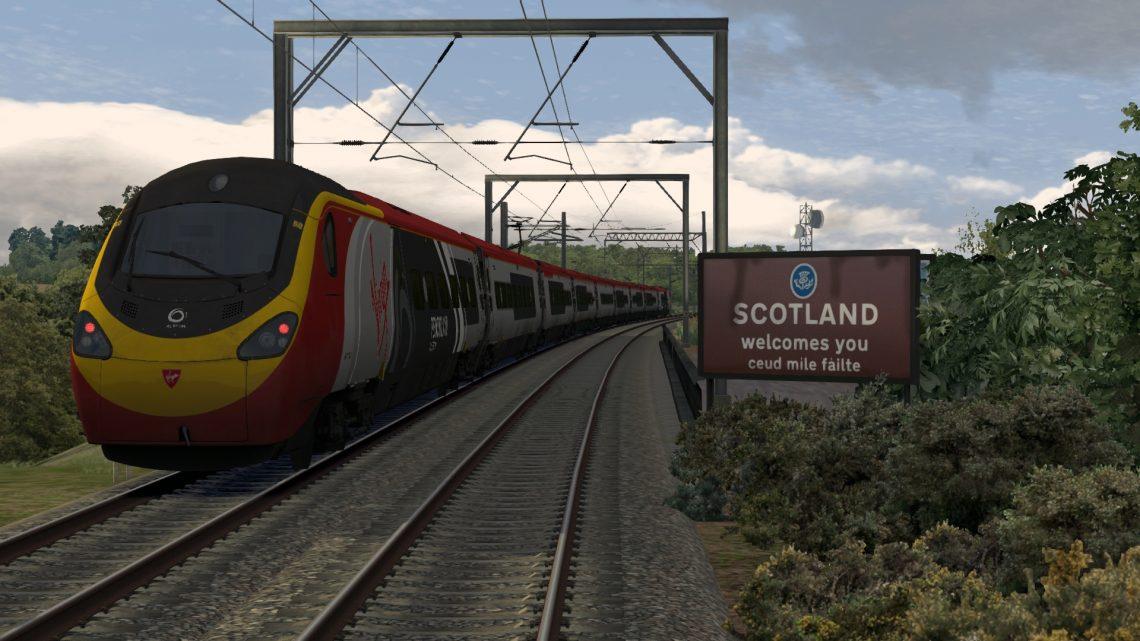 1S82 1630 London Euston to Glasgow Central