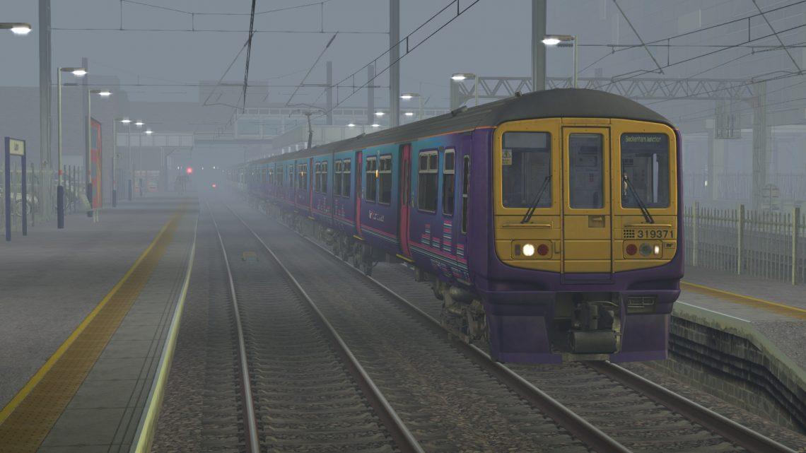1H83 0634 Bedford to Beckenham Junction – Class 319s