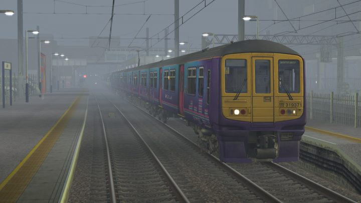 1H83 0634 Bedford to Beckenham Junction – Class 319s