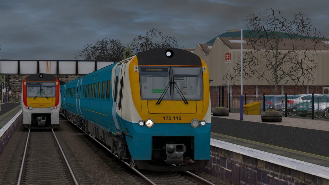 1V44 1331 Manchester Piccadilly to Tenby