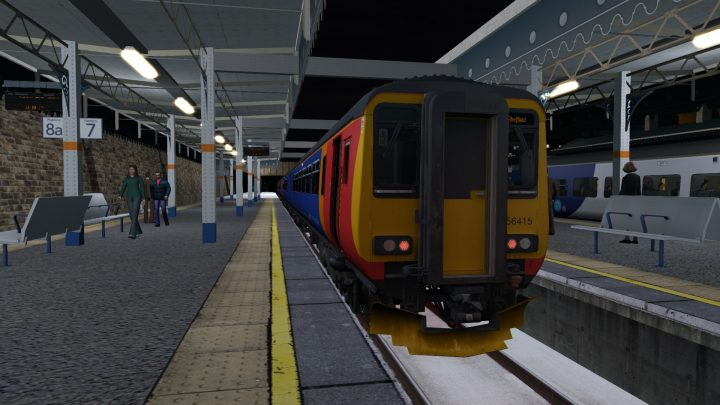1F57 1810 Kettering to Sheffield