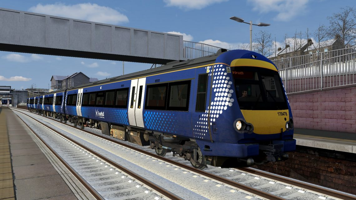 1L57 0900 Edinburgh to Arbroath