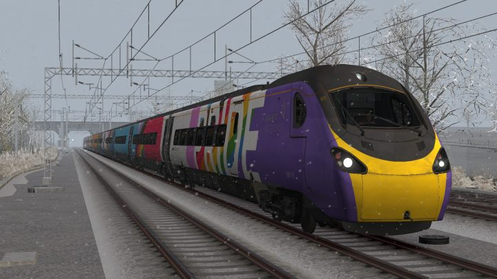 1R27 0748 Liverpool Lime Street to London Euston