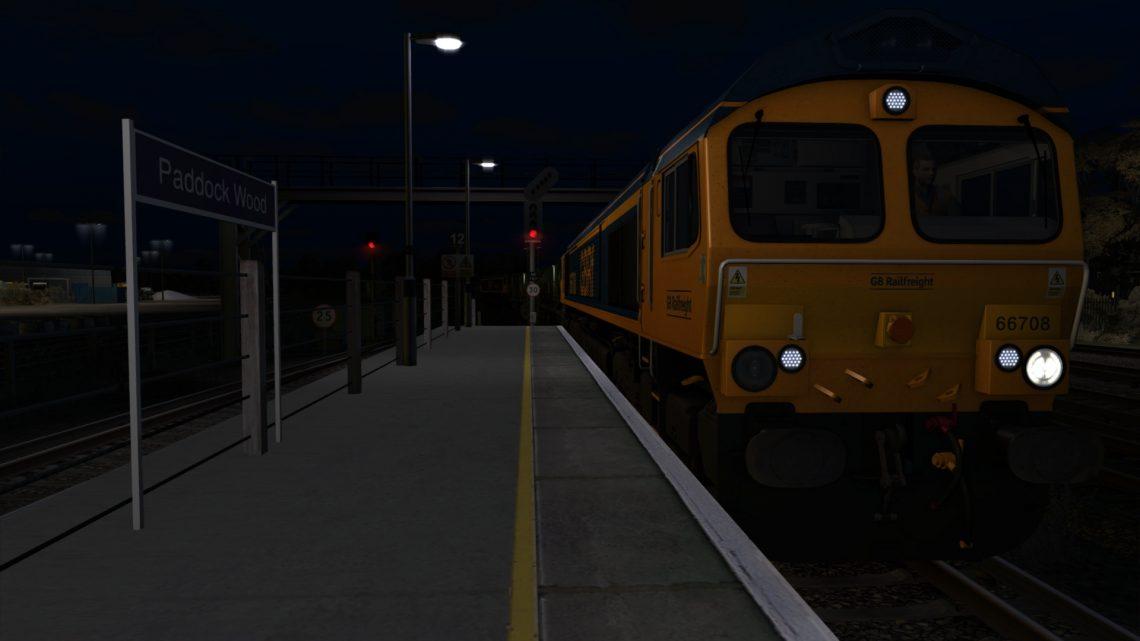 3W75 Tonbridge W Yd – Tonbridge W Yd (1st Jan 2021)