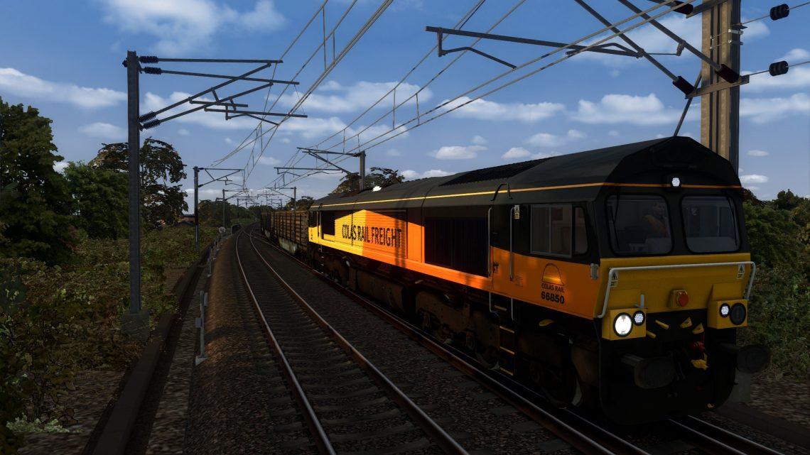 [BT] 6J37 1258 Carlisle Yard Colas Rail to Chirk Kronospan Colas Rail