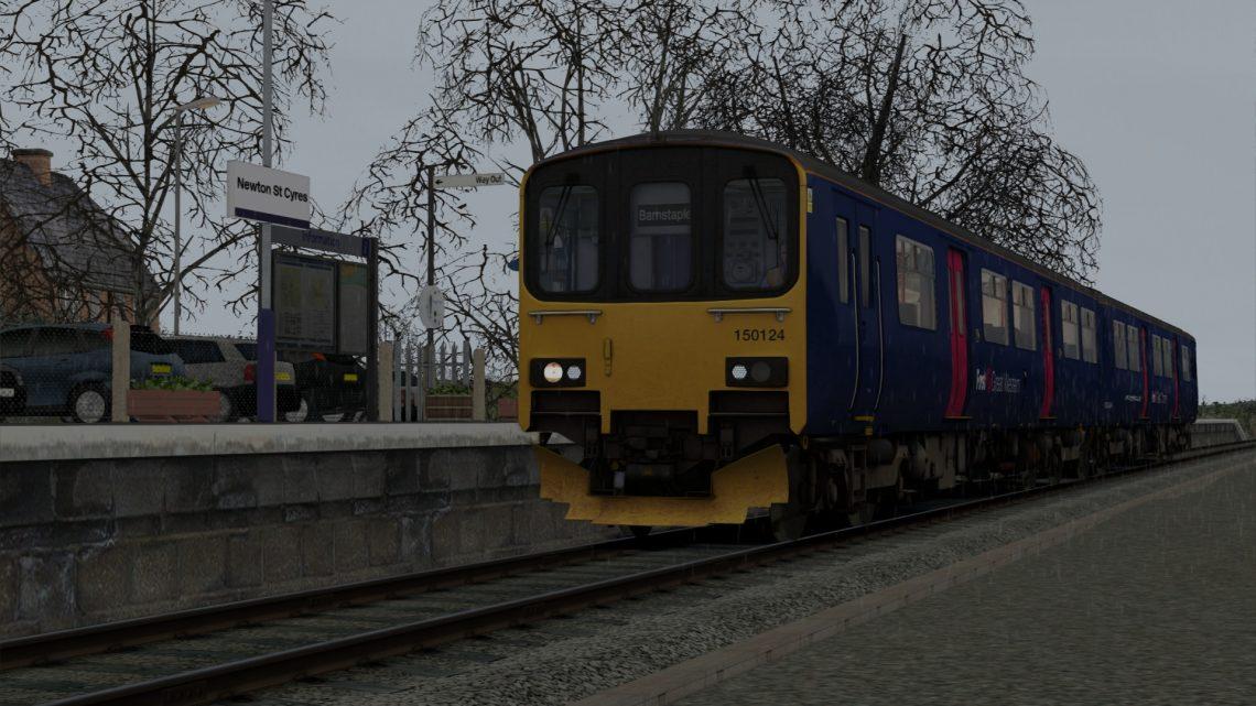 [BrLocos] A day on the Tarka line (AP Class 150/1)