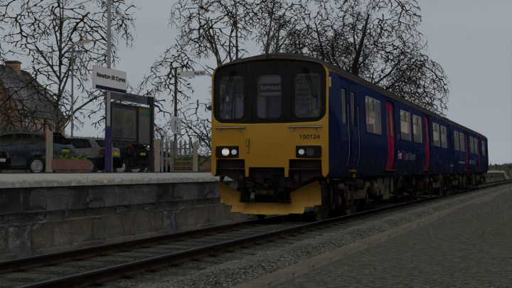 [BrLocos] A day on the Tarka line (AP Class 150/1)