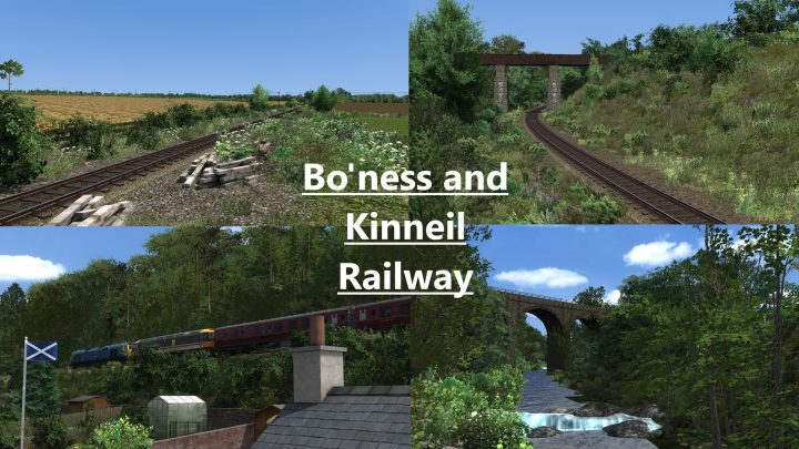 (Network ScotEast) Bo'ness and Kinneil Railway: Standalone