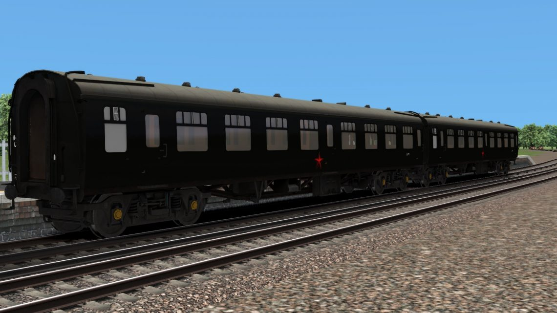 Goldeneye Soviet Mk1 Coaches