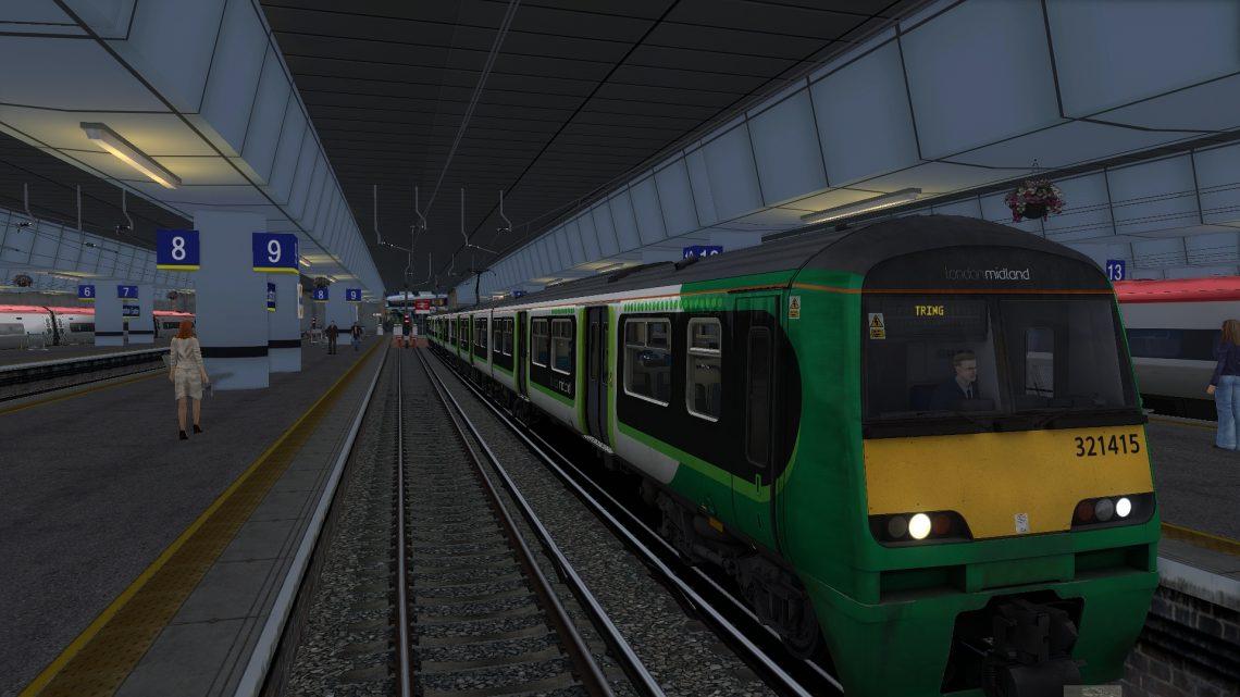 2T15 0904 London Euston to Tring