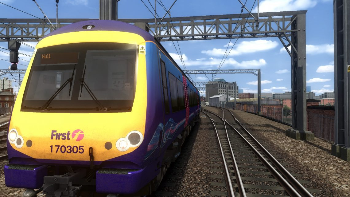 1K13 0935 Manchester Piccadilly to Hull