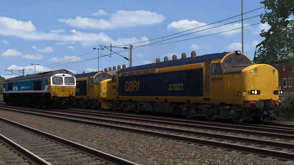 GBRf 37/4 & /6's + GBRf/NSE 66 (GBRf fictional livery mini pack)
