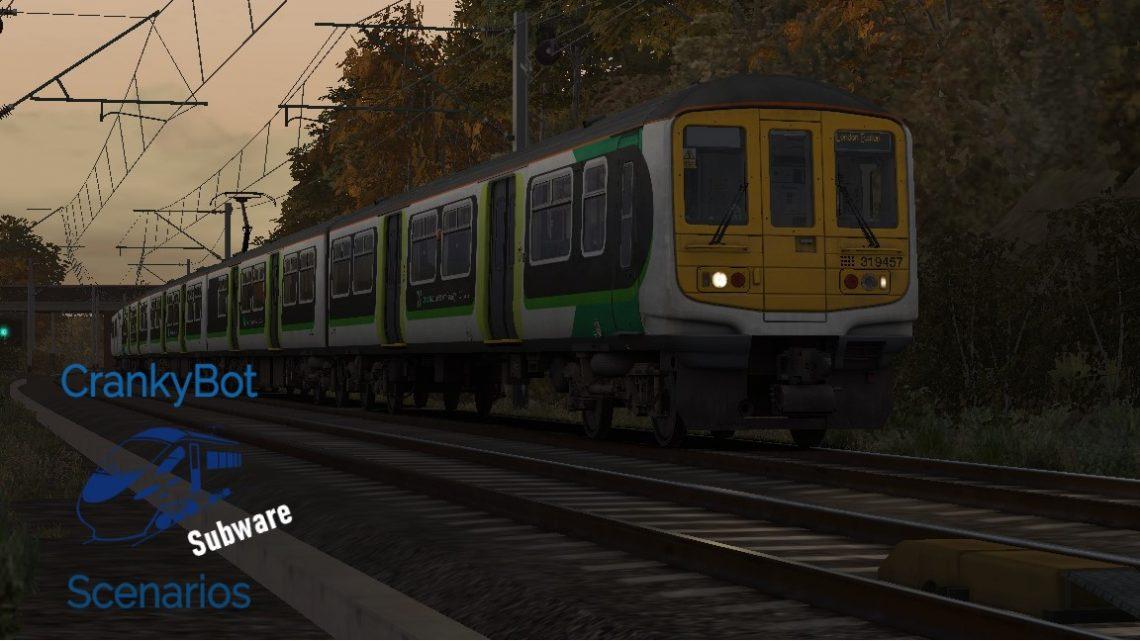 *SUB ONLY* [CB] 2T52 18:25 Tring – London Euston